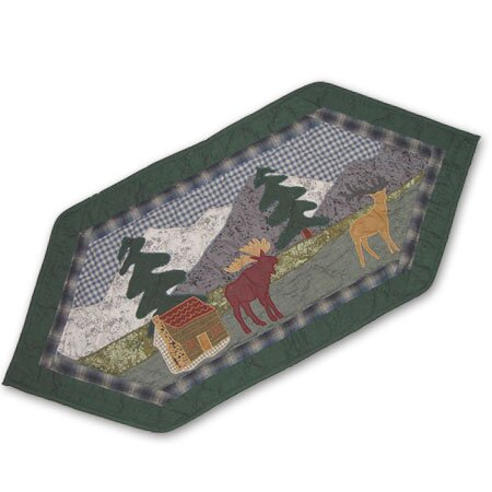 Northwoods Walk Table Runner by Patch Magic