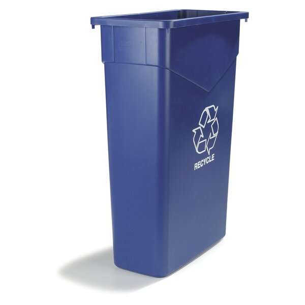 TrimLine™ Recycling Bin (Set of 4) by Carlisle Food Service Products