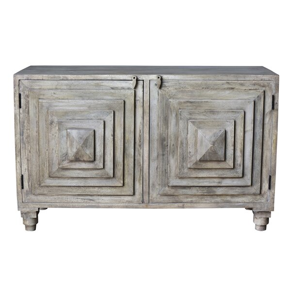 Kace Pyramid 2 Door Accent Cabinet by Bloomsbury Market