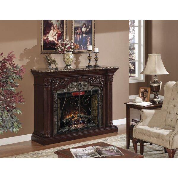 Astoria Electric Fireplace Mantel Surround by Classic Flame