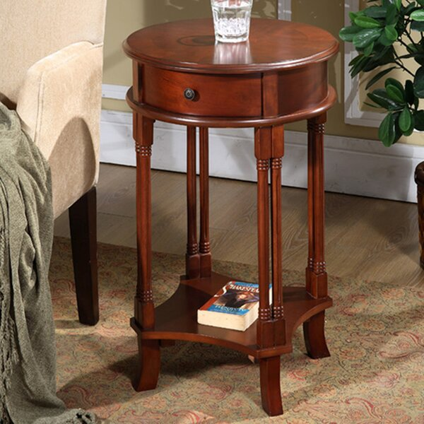 Asheville End Table With Storage By Darby Home Co