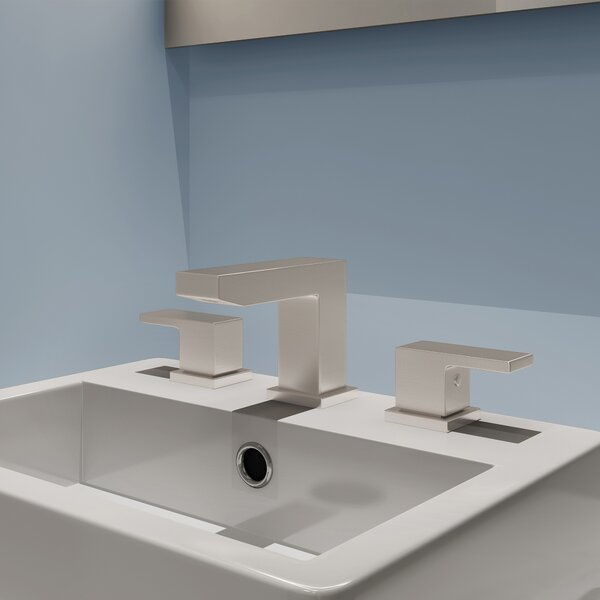 Mod Widespread Bathroom Faucet with Drain Assembly