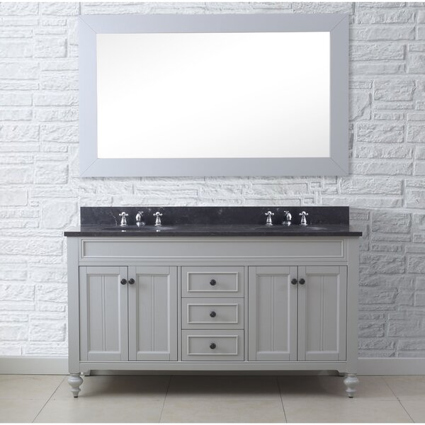 Shildon 60 Double Bathroom Vanity Set by Charlton Home