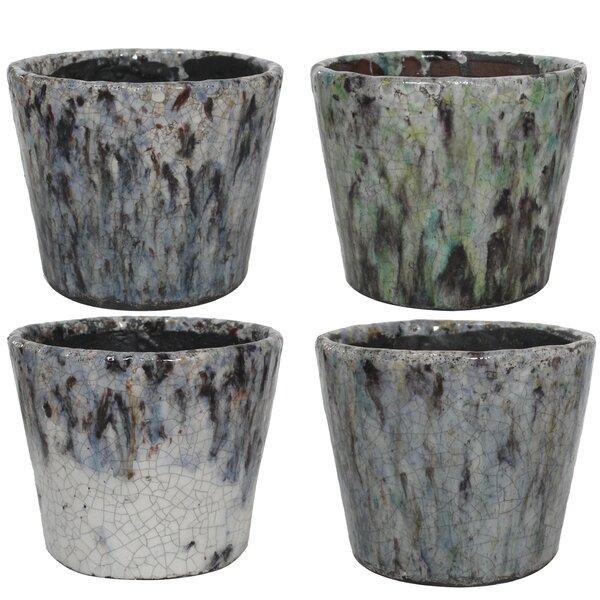 Rosenbloom Terracotta Pot Planter (Set of 4) by Bloomsbury Market