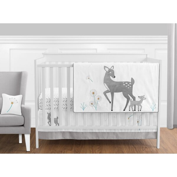Forest Deer 11 Piece Crib Bedding Set by Sweet Jojo Designs