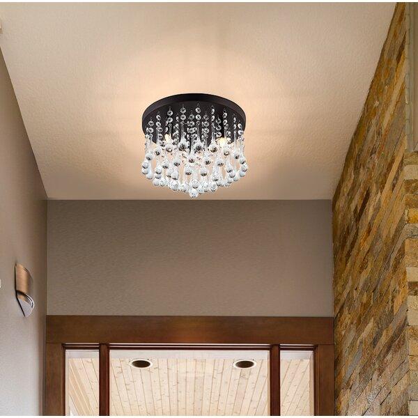 Kora 3-Light Flush Mount by Willa Arlo Interiors