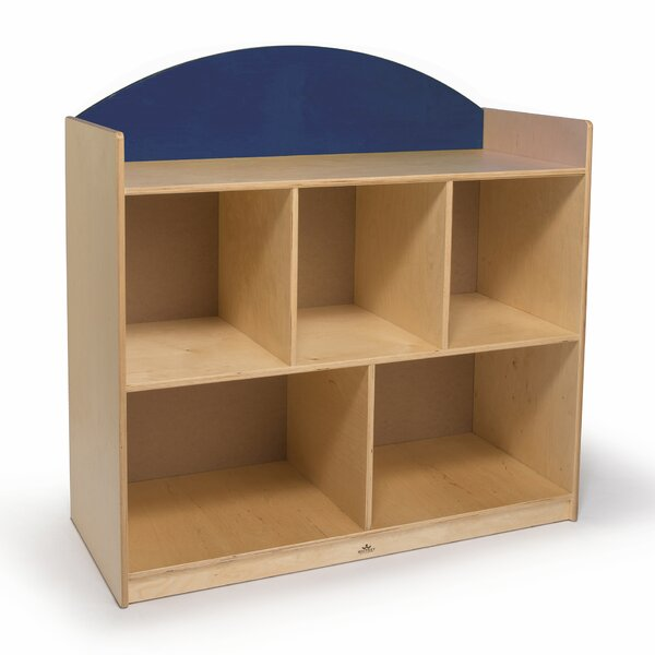 Rainbow Sturdy 5 Compartment Shelving Unit by Whitney Brothers