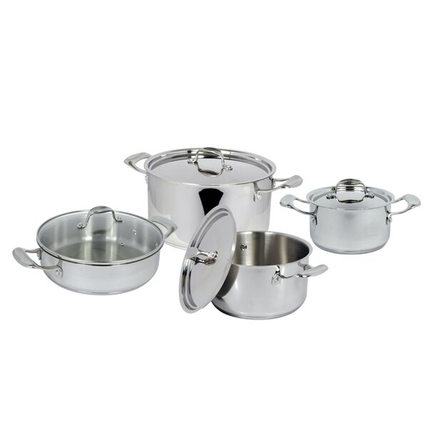 4 Piece Stainless Steel Cookware Set by Better Chef