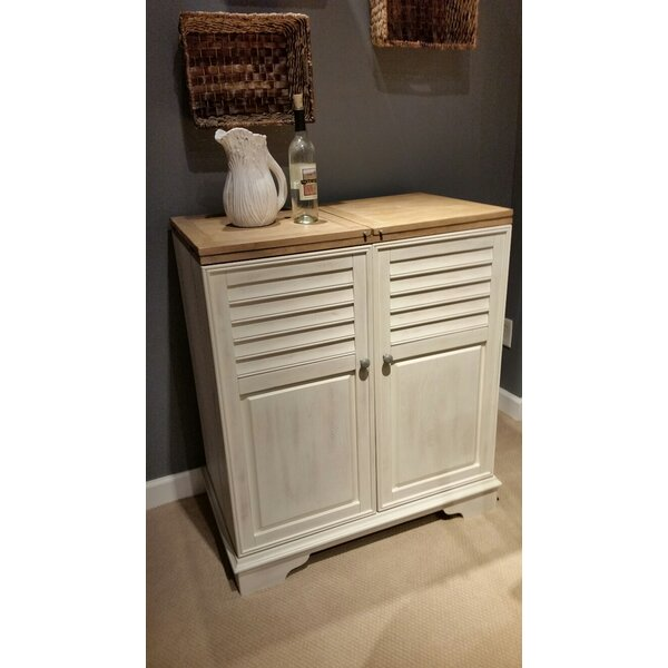 Cossey Cabinet Bar with Wine Storage by Rosecliff Heights