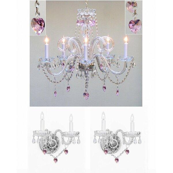 Kendari 5-Light Candle Style Chandelier by House of Hampton