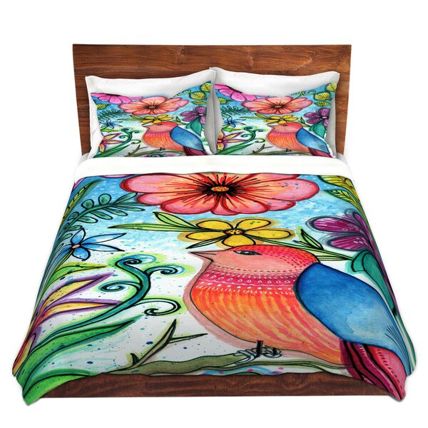 Bird Blessing Duvet Cover Set