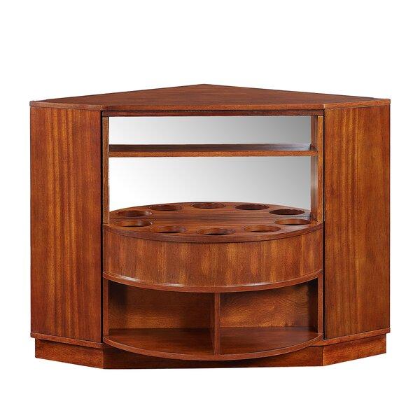 Studley Rotating Corner Bar Cabinet by Winston Porter Winston Porter