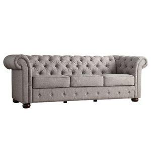 Compare prices Willa Arlo Interiors Jorgen Tufted Chesterfield Sofa