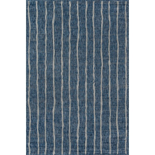 Sicily Blue Indoor/Outdoor Area Rug by Novogratz