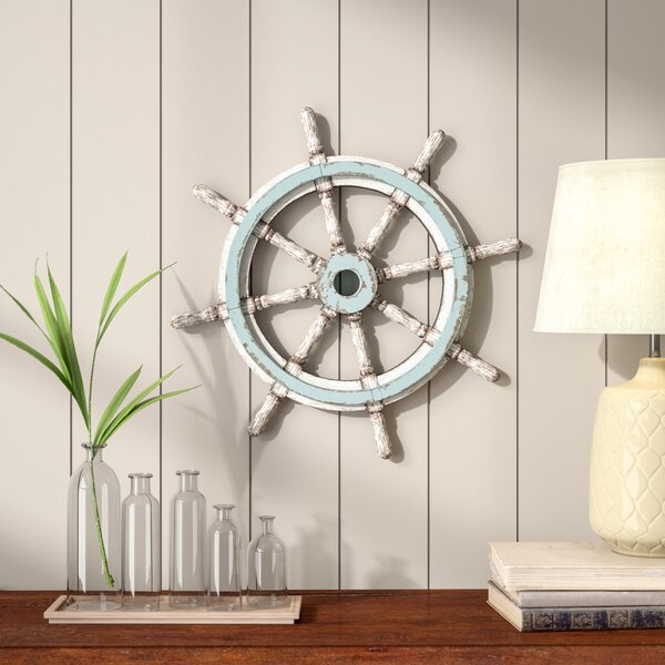 Decorative Wood Ship Wheel by Birch Lane™Decorative Wood Ship Wheel by Birch Lane™