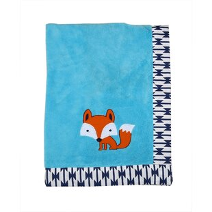 Look for Rovel Fox Plush Blanket ByHarriet Bee