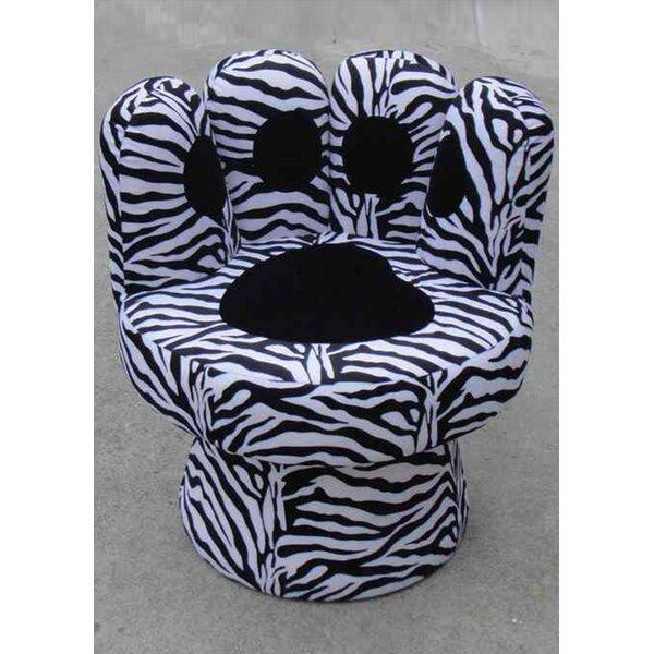 Hovis Paw Swivel Lounge Chair by Zoomie Kids