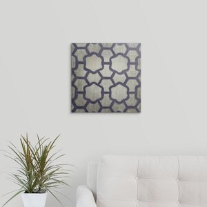 'Spectrum Symmetry III' by Chariklia Zarris Graphic Art on Wrapped Canvas by Great Big Canvas
