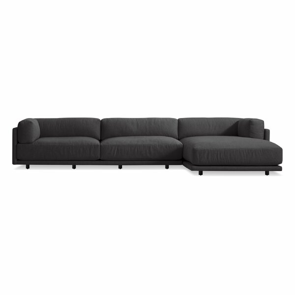 Sunday Sofa with Left Arm Chaise by Blu Dot