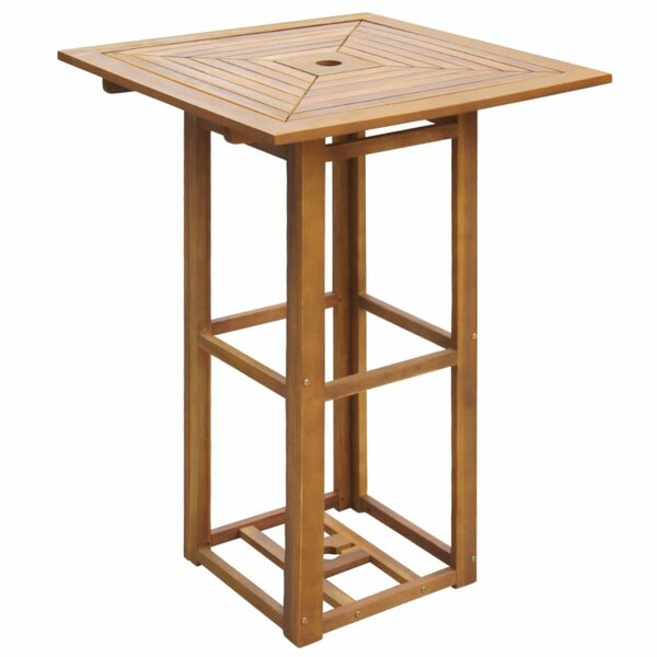 Glascock Wooden Bar Table by Bay Isle Home