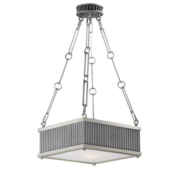 Langton 3 - Light Unique / Statement Square / Rectangle Chandelier By Mercer41