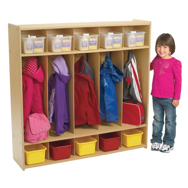Value Line 3 Tier 5 Wide Coat Locker by Angeles