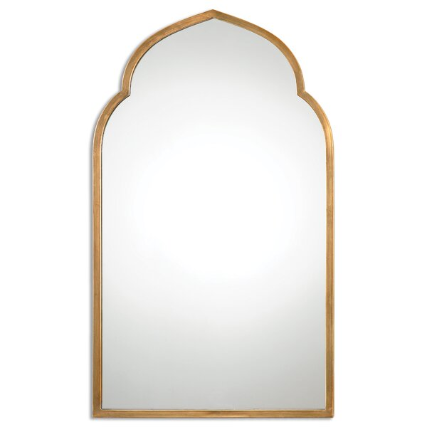 Gold Arch Wall Mirror by One Allium Way