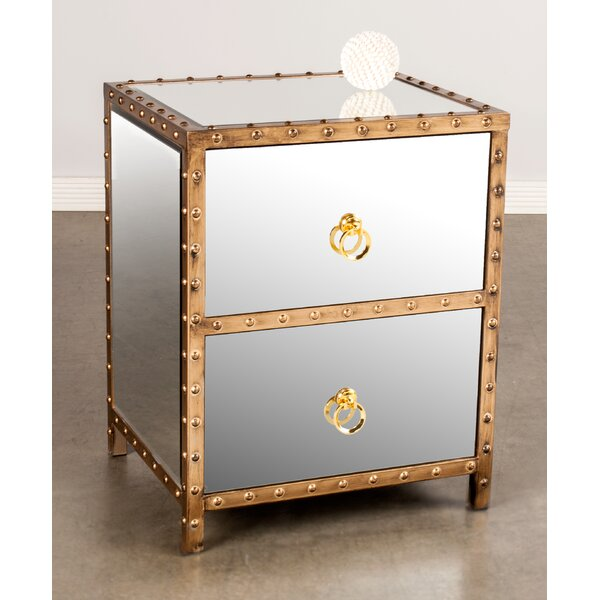 2 Drawer Nightstand by Statements by J