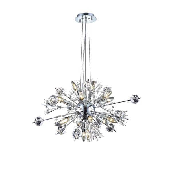 Drusilla 22 - Light Sputnik Sphere Chandelier By Everly Quinn
