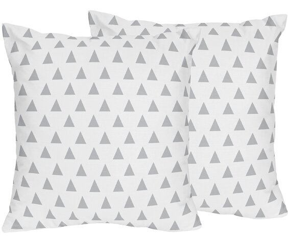 Mod Arrow Throw Pillow (Set of 2) by Sweet Jojo Designs
