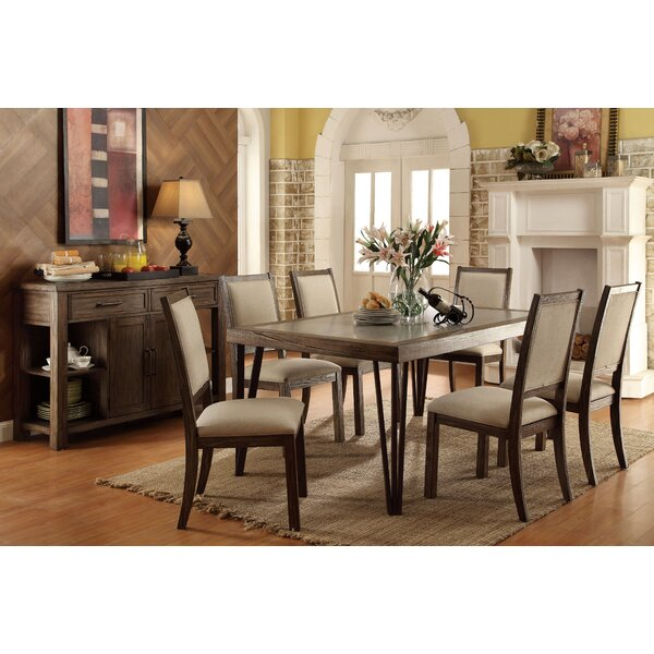 Suttons 7 Piece Dining Set By Canora Grey Discount