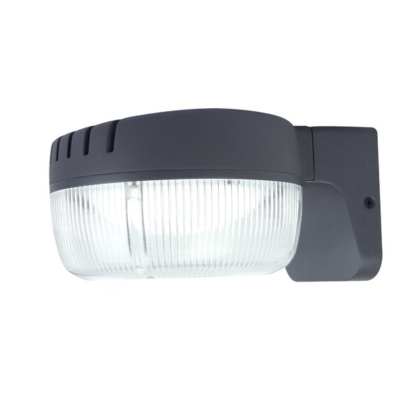 Outdoor Dusk-to-Dawn LED Flood Light by Lutec