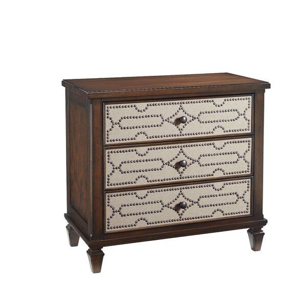Soares 3 Drawers Bachelor Chest by Bay Isle Home