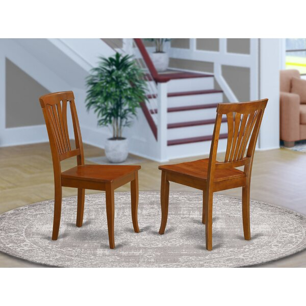 Spurling Solid Wood Dining Chair (Set of 2) by August Grove August Grove