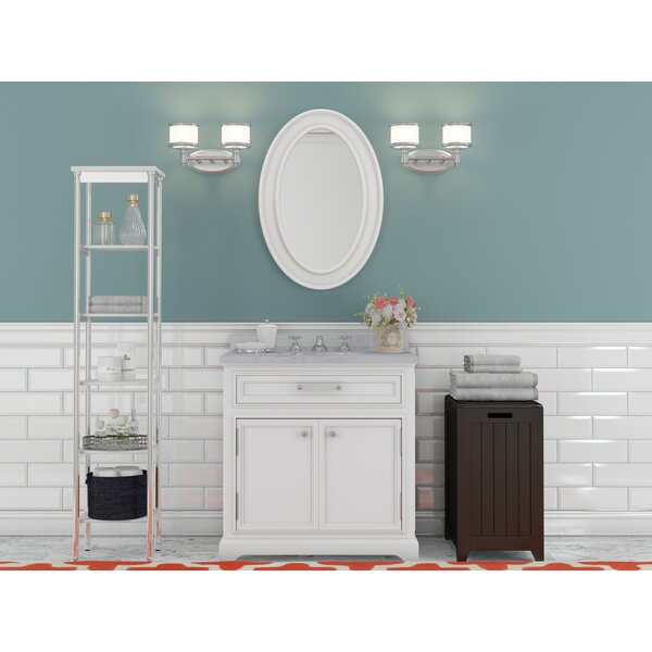 Bergin 24 W Single Sink Bathroom Vanity Set with Mirror and Faucet by Three Posts