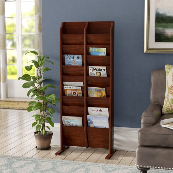 Bengt 20 Pocket Free Standing Magazine Rack by Darby Home Co
