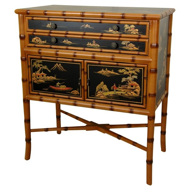 Patricia 2 Drawer Accent Cabinet by World Menagerie