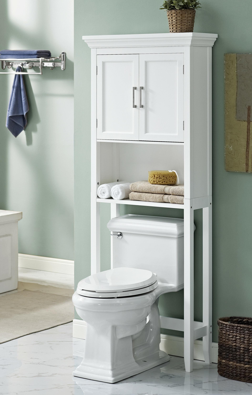 """Simpli Home Avington 27"""" W x 67"""" H Over the Toilet Storage ..."""