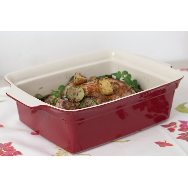 Geminis Rectangular Covered Baking Dish by BergHOFF International
