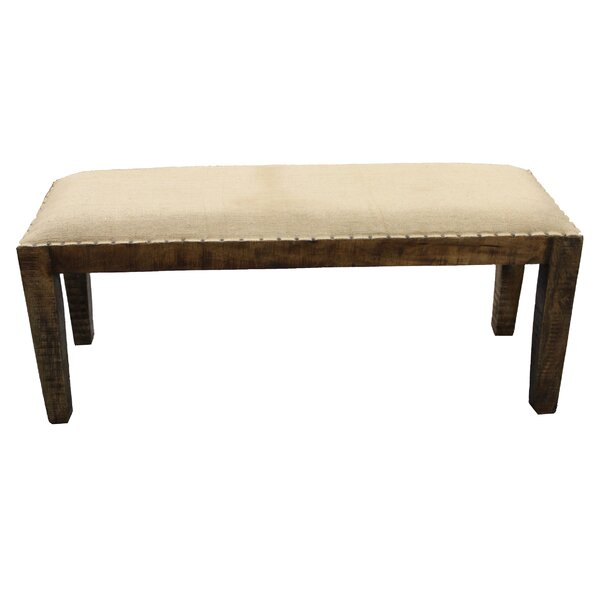 Elias Wood Bench by Gracie Oaks