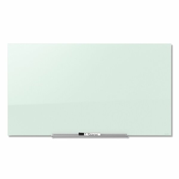Quartet InvisaMount Wall Mounted Magnetic Glass Board by Acco Brands, Inc.