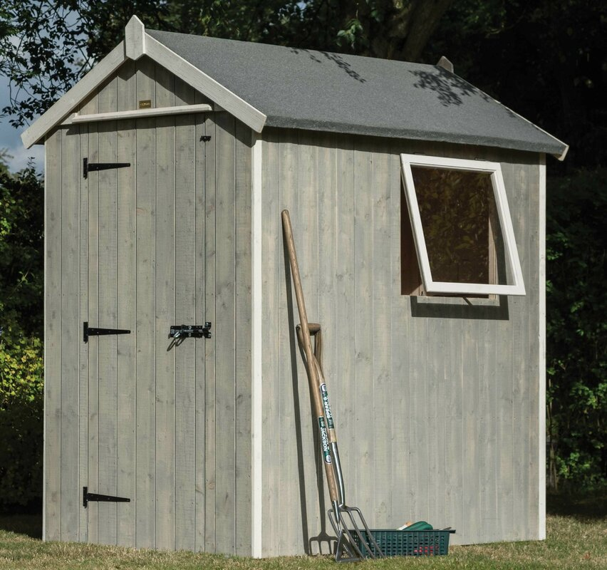 bluebell 6 x 4 garden shed
