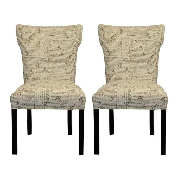 Newsletter Parsons Chair (Set Of 2) By Sole Designs