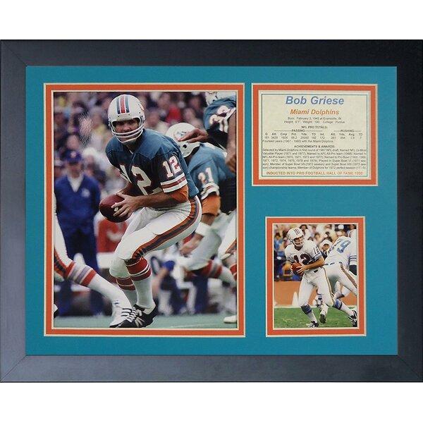Bob Griese Framed Memorabilia by Legends Never Die