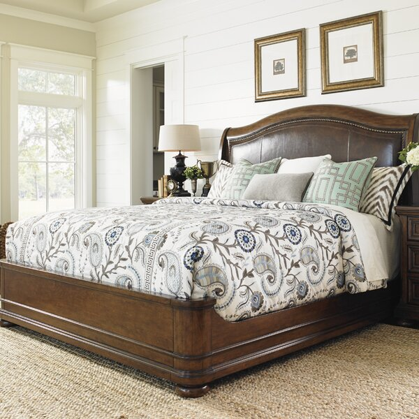 Coventry Hills Upholstered Panel Bed by Lexington