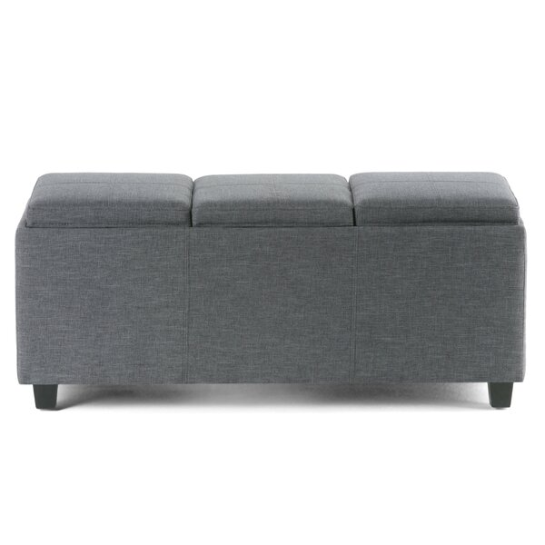 Agnon Upholstered  Storage Bench by Alcott Hill