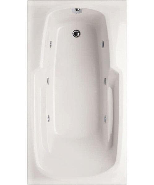 Designer Solo 60 x 32 Whirlpool Bathtub by Hydro Systems