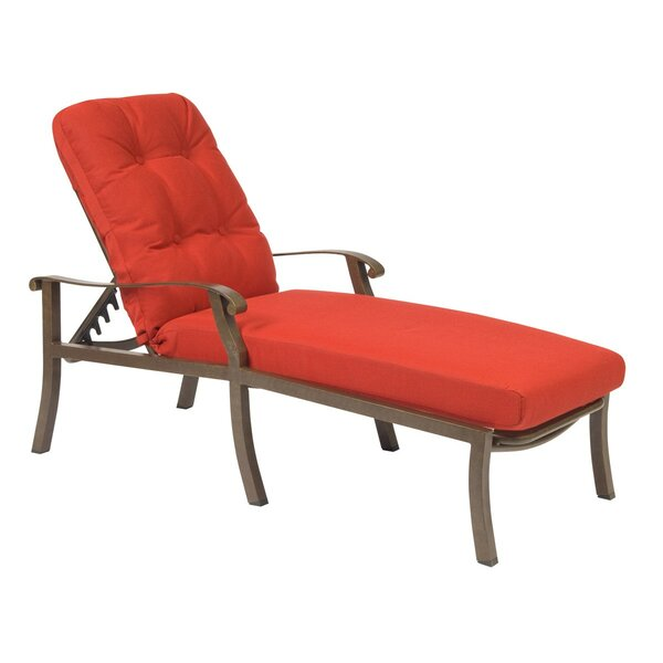 Cortland Adjustable Chaise Lounge by Woodard