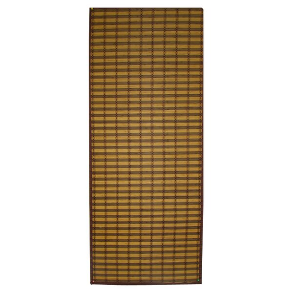 Bamboo Floor Runner Outdoor Area Rug by Textiles Plus Inc.