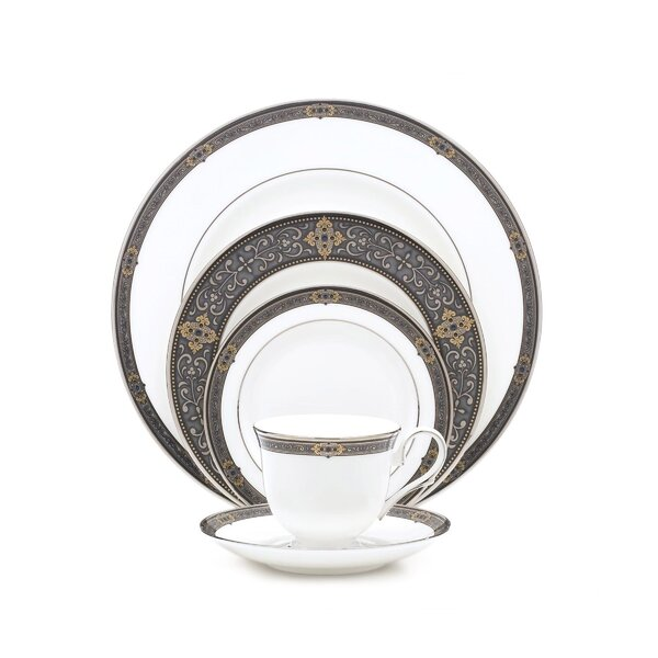 Vintage Jewel 5 Piece Place Setting, Service for 1 by Lenox